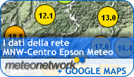 I dati della rete MNW - Centro Epson Meteo